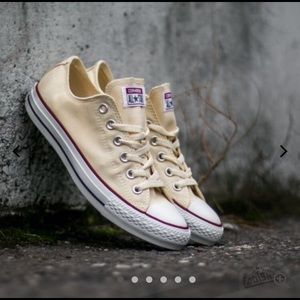 Converse all star natural white